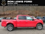 2019 Race Red Ford F150 XLT SuperCrew 4x4 #131820173
