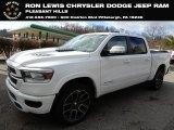 2019 Bright White Ram 1500 Laramie Crew Cab 4x4 #131820356