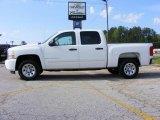 2008 Summit White Chevrolet Silverado 1500 LT Crew Cab #13176248