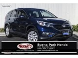 2016 Obsidian Blue Pearl Honda CR-V EX #131858125