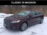 2013 Bordeaux Reserve Red Metallic Ford Fusion Titanium #131858162