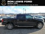 2019 Agate Black Ford F150 Lariat SuperCrew 4x4 #131858113