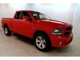2014 Flame Red Ram 1500 Sport Quad Cab 4x4 #131858171