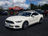 2015 50th Anniversary Wimbledon White Ford Mustang 50th Anniversary GT Coupe #131858192