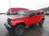 2017 Firecracker Red Jeep Wrangler Unlimited Rubicon 4x4 #131869591