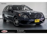2016 Indigo Blue Metallic Mercedes-Benz E 350 4Matic Wagon #131869542
