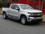Silver Ice Metallic Chevrolet Silverado 1500 in 2019