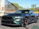 2019 Dark Highland Green Ford Mustang Bullitt #131907167
