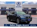 2019 Fathom Blue Pearl Acura MDX  #131886650