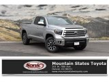 2019 Silver Sky Metallic Toyota Tundra Limited Double Cab 4x4 #131924303