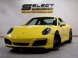 2017 Porsche 911 Racing Yellow