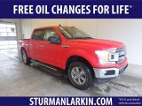 2019 Race Red Ford F150 XLT SuperCrew 4x4 #131924393