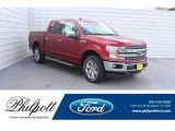 2019 Ruby Red Ford F150 Lariat Sport SuperCrew 4x4 #131924493