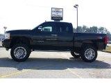 2009 Black Chevrolet Silverado 1500 LT Extended Cab 4x4 #13176121
