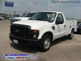 2008 Ford F250 Super Duty XL Regular Cab Chassis Utility Truck Data, Info and Specs
