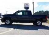 2009 Black Granite Metallic Chevrolet Silverado 1500 LT Crew Cab #13176111