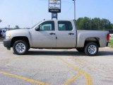 2009 Silver Birch Metallic Chevrolet Silverado 1500 Crew Cab #13176220
