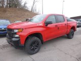 2019 Red Hot Chevrolet Silverado 1500 Custom Z71 Trail Boss Crew Cab 4WD #131955981