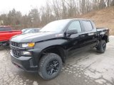 2019 Black Chevrolet Silverado 1500 Custom Z71 Trail Boss Crew Cab 4WD #131955980