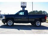 2009 Black Granite Metallic Chevrolet Silverado 1500 Regular Cab #13176112