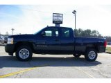 2009 Imperial Blue Metallic Chevrolet Silverado 1500 Extended Cab 4x4 #13176140