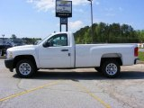 2009 Summit White Chevrolet Silverado 1500 Regular Cab #13176188