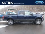 2019 Blue Jeans Ford F150 XLT SuperCab 4x4 #131964536