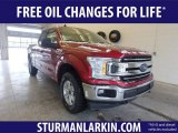 2019 Ruby Red Ford F150 XLT SuperCab 4x4 #131964504