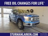 2019 Velocity Blue Ford F150 XLT SuperCrew 4x4 #131964502