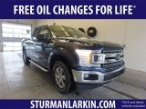 2019 Blue Jeans Ford F150 XLT SuperCab 4x4 #131964501