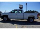 2009 Summit White Chevrolet Silverado 1500 Extended Cab #13176132
