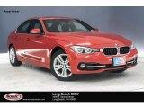 2018 Melbourne Red Metallic BMW 3 Series 330i Sedan #131981329