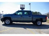 2009 Blue Granite Metallic Chevrolet Silverado 1500 Crew Cab #13176129