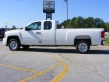 2009 Summit White Chevrolet Silverado 1500 LS Extended Cab #13176191