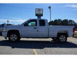 2009 Summit White Chevrolet Silverado 1500 LT Extended Cab #13176124