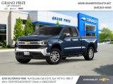 2019 Northsky Blue Metallic Chevrolet Silverado 1500 LT Double Cab 4WD #131981165