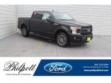2019 Agate Black Ford F150 XLT SuperCrew #131998246