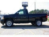 2009 Black Chevrolet Silverado 1500 Regular Cab #13176151