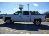 2009 Summit White Chevrolet Silverado 1500 LT Crew Cab #13176075