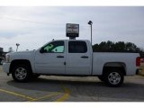 2009 Summit White Chevrolet Silverado 1500 LT Crew Cab #13176077