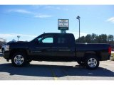 2009 Black Granite Metallic Chevrolet Silverado 1500 LT Crew Cab #13176118