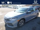 2019 Sonic Gray Pearl Honda Civic LX Hatchback #132012559
