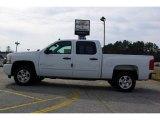 2009 Summit White Chevrolet Silverado 1500 LT Crew Cab #13176073