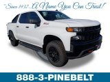 2019 Summit White Chevrolet Silverado 1500 Custom Z71 Trail Boss Crew Cab 4WD #132012392