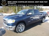 2019 Patriot Blue Pearl Ram 1500 Big Horn Crew Cab 4x4 #132012441