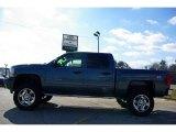 2009 Blue Granite Metallic Chevrolet Silverado 1500 LT Z71 Crew Cab 4x4 #13176093