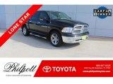 2012 Black Dodge Ram 1500 Lone Star Crew Cab #132012596