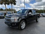 2019 Agate Black Ford F150 Platinum SuperCrew 4x4 #132012684