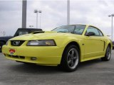 2003 Zinc Yellow Ford Mustang GT Coupe #1314571