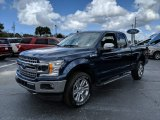 2019 Blue Jeans Ford F150 XLT SuperCab 4x4 #132012682